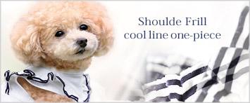 犬と生活クールラインワンピース