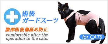 猫の暮らし術後ガードスーツ
