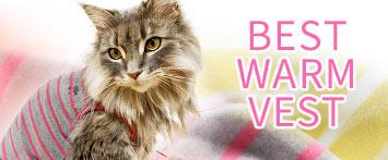 猫の暮らしウォームベストキャット