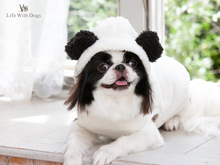 犬と生活 モハクマパーカー