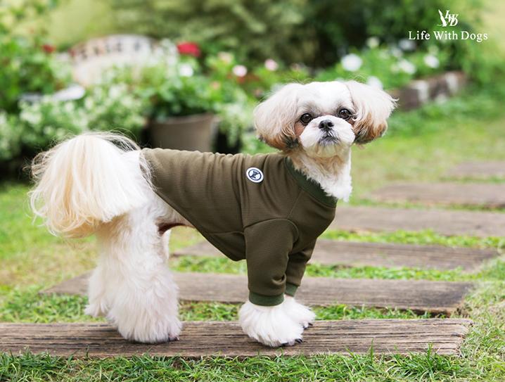 犬と生活 バグガードTシャツ 【犬服,夏服,防虫対策,防虫ウェア】