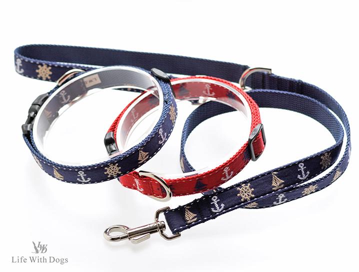 犬と生活 マリン カラー リード