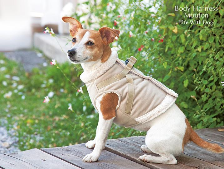 犬と生活 ボディハーネスムートン