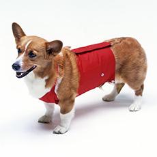 犬と生活 レインエプロン