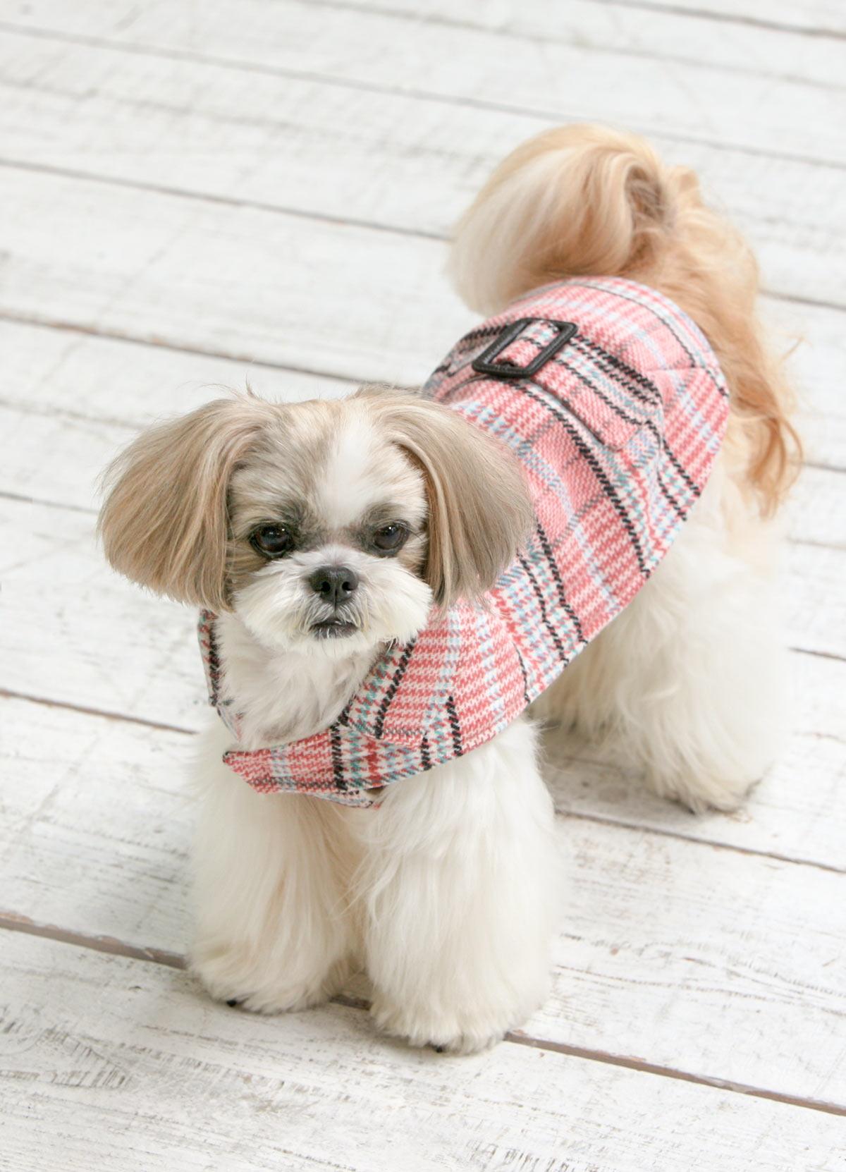 犬と生活 イージーコート【犬服 冬服 小型犬 中型犬】