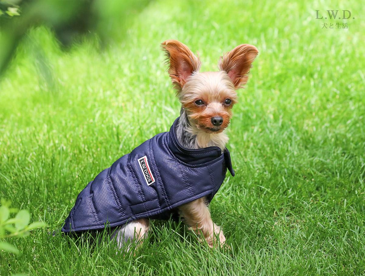 犬と生活 イージーダウン【犬服 冬服 小型犬】