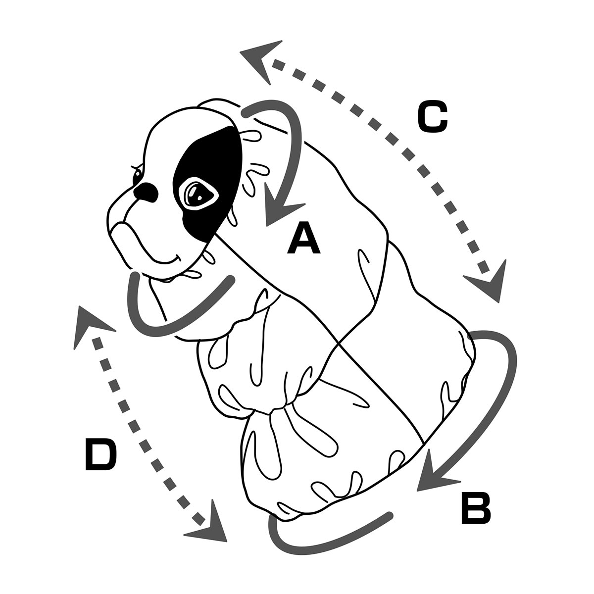 犬と生活 高撥水レインスヌード